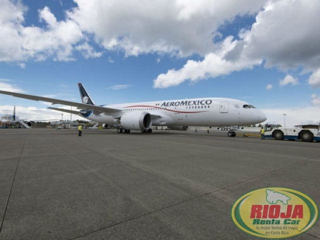 Aeromexico will increase frequency of flights from Costa Rica