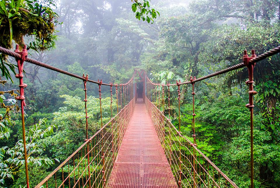 Lugares de Costa Rica para visitar en época lluviosa